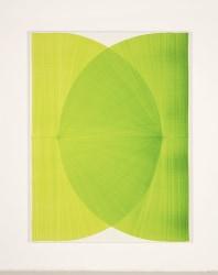 Thomas Trum, Two Green Lines 30