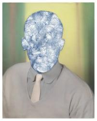 Julie Cockburn, Blue Face Man 2