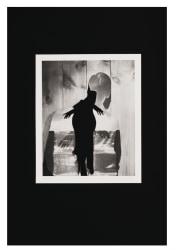 John Stezaker, The Smoker (from the Double Shadow Series)