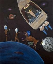 Kubilay Mert Ural, No Title (Space Astronaut)