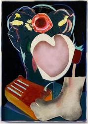Aurélie Gravas, Black Painting 2 (Still Life with Kalimba)