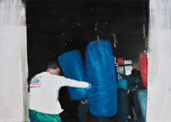 Daniele Galliano, Untitled (The Boxer)