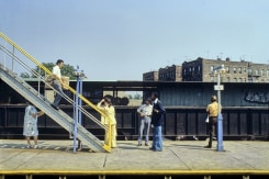 Willy Spiller, Elevated Station 180 St, Queens, New York