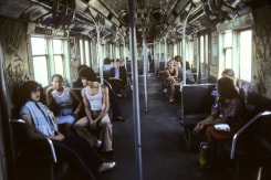 Willy Spiller, The A train to Brighton Beach, New York