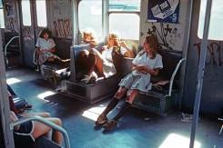 Willy Spiller, Schoolgirls on the A train to Far Rockaway, New York