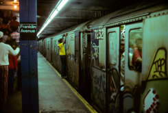 Willy Spiller, Dangerous ride, Franklin Street Station, New York Subway