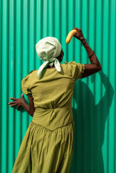 Lola Keyezua, Never Too Old To Cut The Banana When Erected 11
