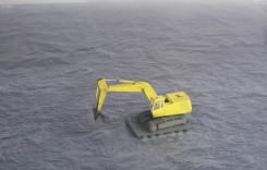 Edwin Zwakman, Sea excavator