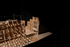 Thomas Verstraeten, Familiestraat (scale model)