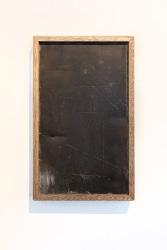 Ayrton Eblé, construction painting: Geschaafd hardhout