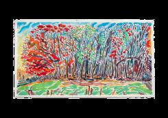 Evert Debusschere, Zonder Titel (bomen aan de Schelde)