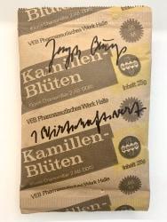 Joseph Beuys, 1 Wirtschaftswert (Kamilen-Blüten)