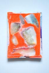 Daan den Houter, Icepainting Untitled #1