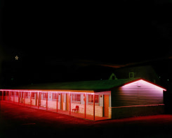 Steve Fitch, Motel, Raton, New Mexico