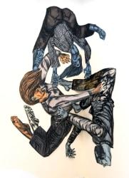 Susanna Inglada, Three Characters Falling