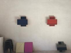 Manolo Ballesteros, Untitled, Blue