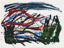 Karel Appel, Horizon of Tuscany no. 2