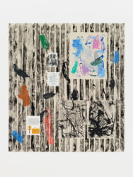 Melissa Gordon, Female Readymade (Pollock's shed, photos of Janet Sobel, Letter from Mark R