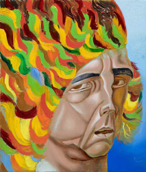 Philip Akkerman, Self-portrait 2021 no. 66