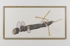 Ger van Elk, Study for Attack Piece
