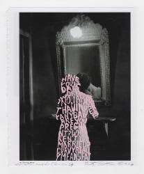 Betty Tompkins, Women Words (Brassaï #9)