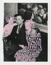 Betty Tompkins, Women Words (Brassaï #7)