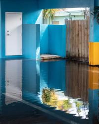 Anastasia Samoylova, Blue Courtyard, Hollywood