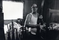 Bertien van Manen, Junior with his gun collection, Cumberland, Kentucky