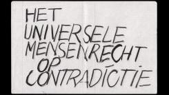Peter Morrens, Point Blank Press | Het universele mensenrecht op contradictie