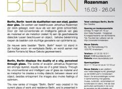 Berlin, Berlin, Jehoshua Rozenman