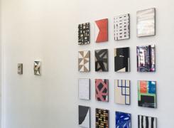'4+4' Groepstentoonstelling, Dave Meijer, Ingrid van der Hoeven, Cor van Dijk, Jus Juchtmans, P.B. Van Rossem
