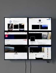 Jan Robert Leegte, Black Square embedded in Social Media