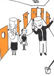 Dick Verdult, Dibujos Pasajeros (Telefoon ouders)