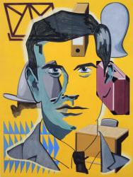 Ton Kraayeveld, Portrait of Anthony Perkins as Joseph K.