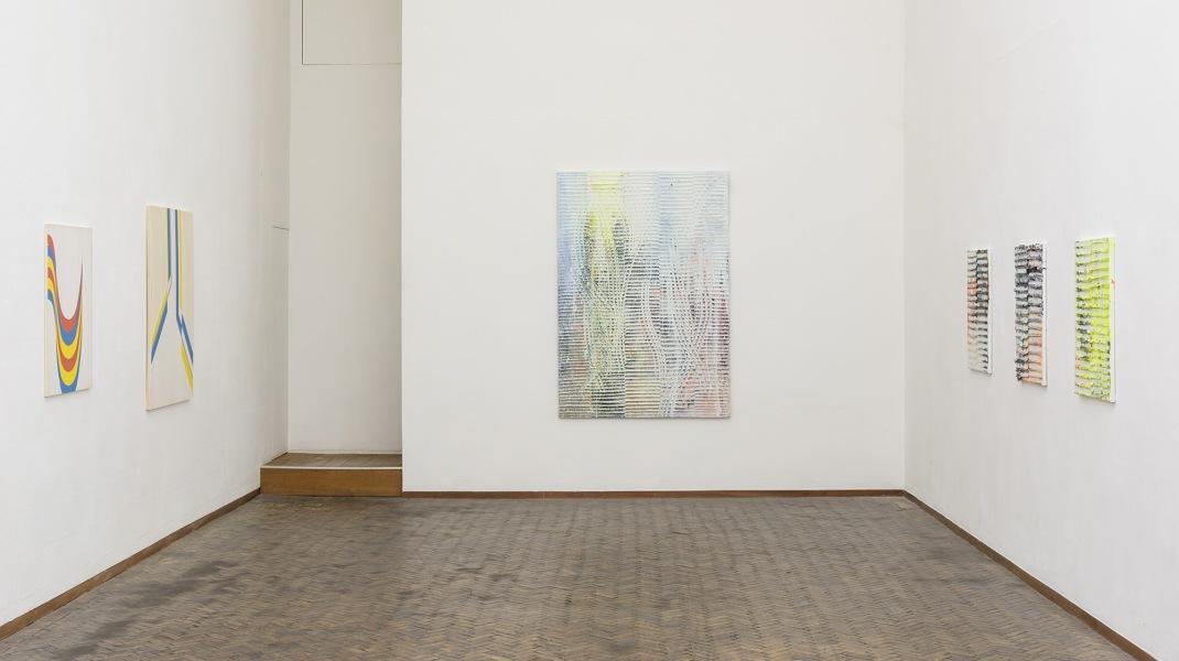 Koen Delaere, Koen Delaere (rechts) en Jens Wolf in 'Images du Futur', Gerhard Hofland Amsterdam, januari-februari 2017