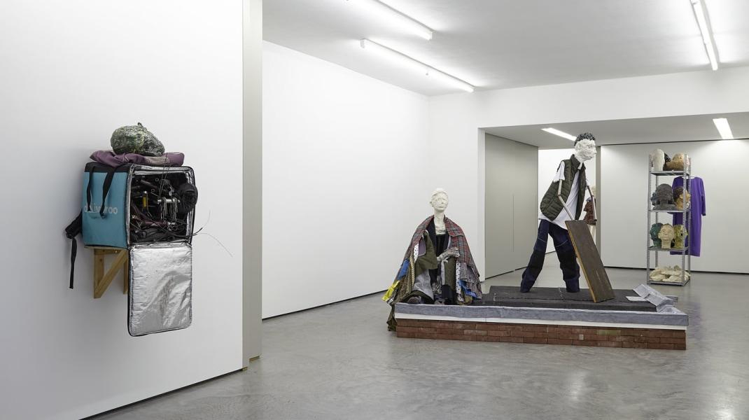 Sander Breure & Witte van Hulzen, Parts, Bits and Pieces, tegenboschvanvreden, 2018, installation view