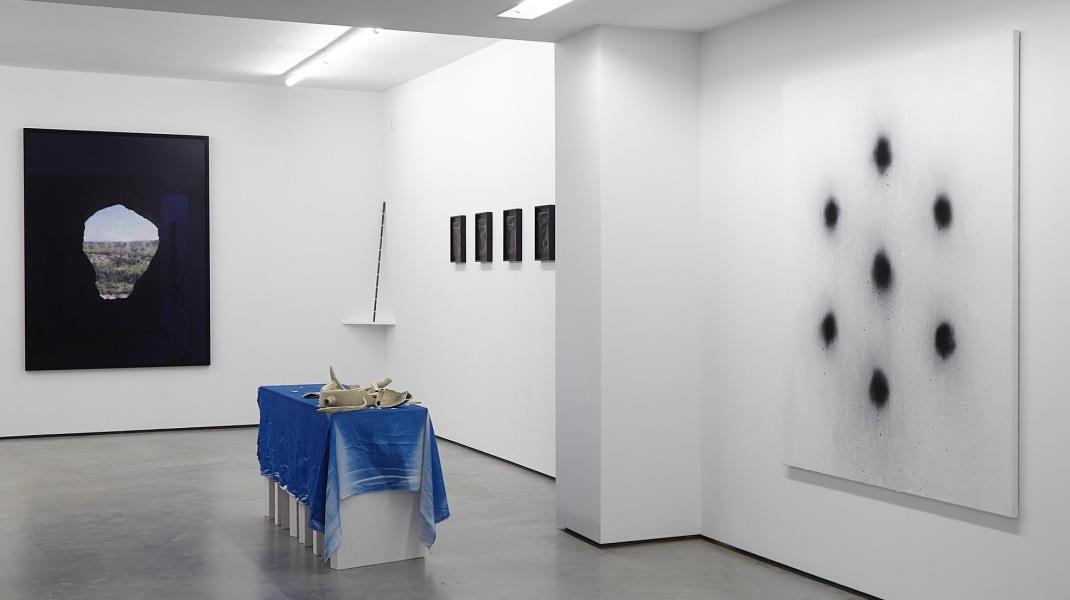 Chaim van Luit, Via Lucis, tegenboschvanvreden, 2017, installation view