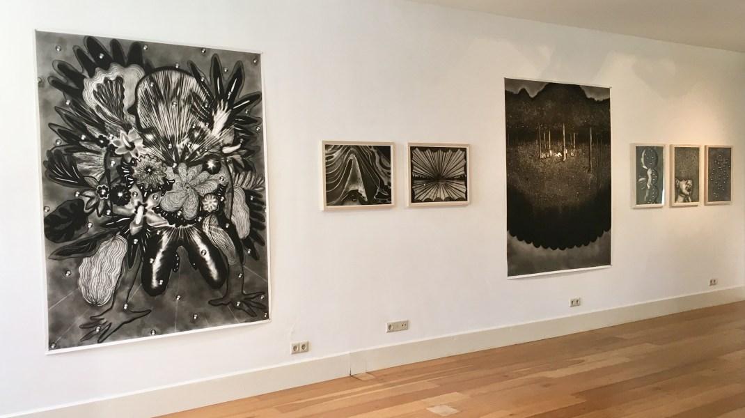 Sigrid van Woudenberg, Expositie 'Mesmerising' bij Galerie Helder.