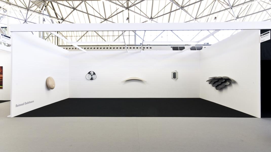 Reinoud Oudshoorn, tentoonstelling Art Amsterdam met boekpresentatie
