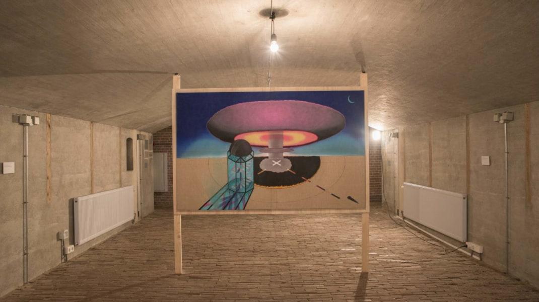 Raymond Barion, 'Parallel Perspectives', een solotentoonstelling van Raymond Barion in Kunstfort bij Vijfhuizen, 2017