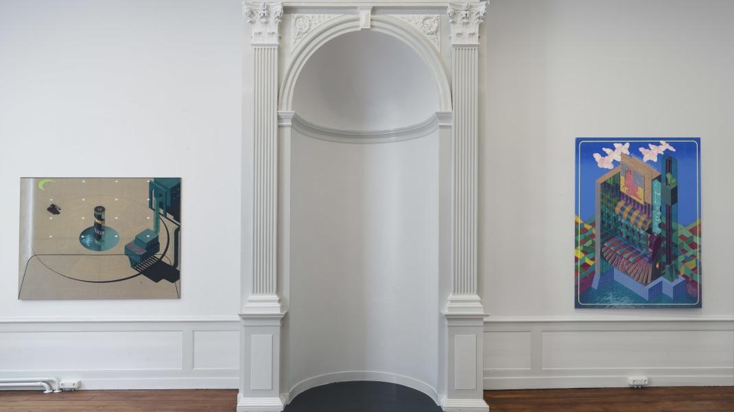 Raymond Barion, 'Isometric Landscapes', een solotentoonstelling door Raymond Barion in Upstream Gallery, 2016