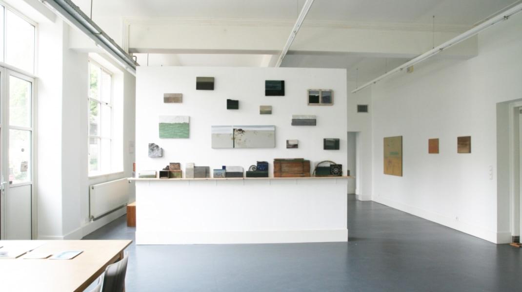 Raf Thys, 'La memoria velata II', solopresentatie Galerie van den Berge (Westwal) 2014