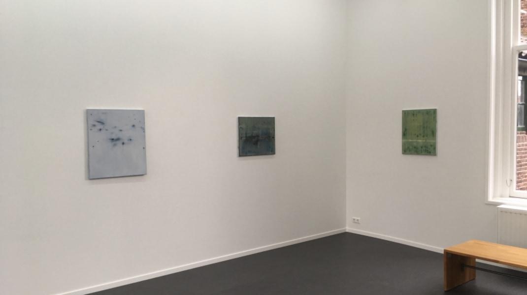 Raf Thys, zaaloverzicht, galerie van den Berge, november 2017