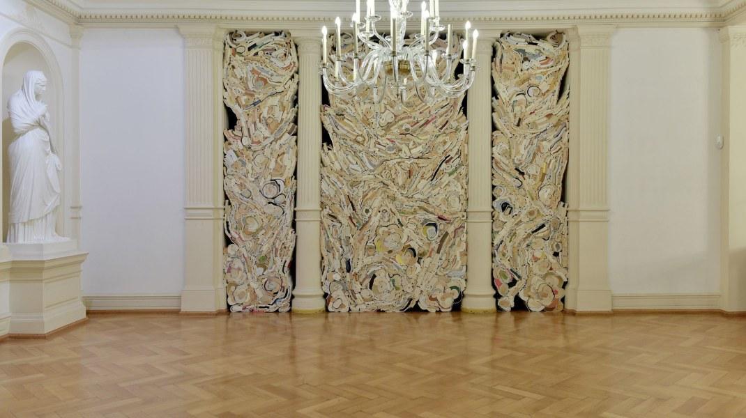 Jonathan Callan, installation view   artworks by Jonathan Callan