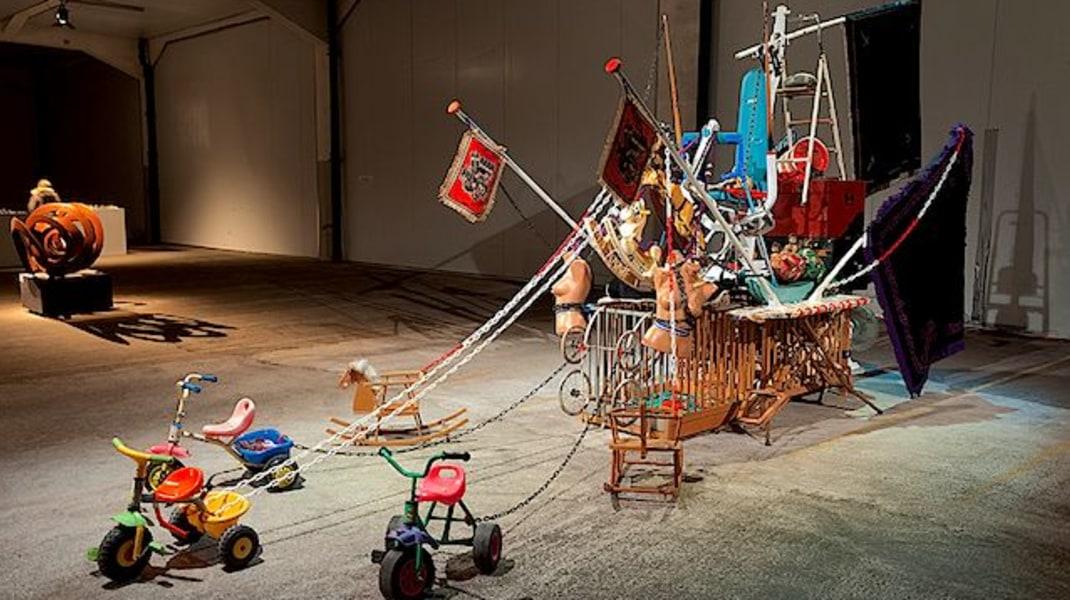Midas Zwaan, The Black Pearl 2009, Art Warehouse, Fenix loodsen Rotterdam, 2013