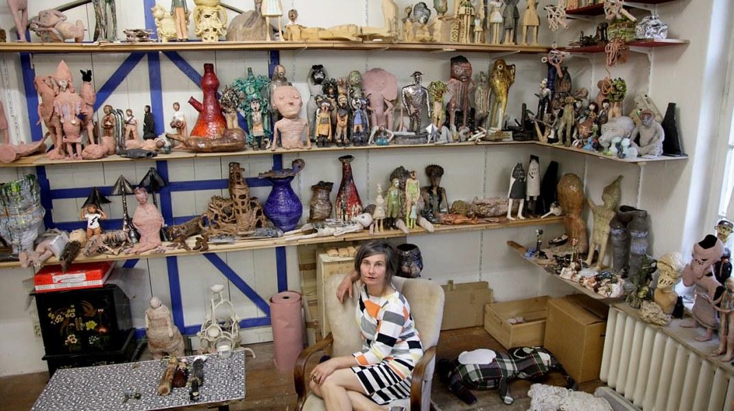 Susanne Ring, Susanne Ring in her Berlin atelier