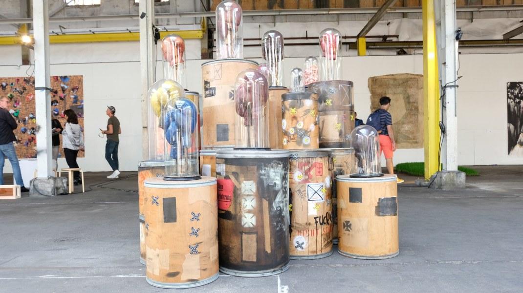 Midas Zwaan, Hard Knock Life,  2017-2018, BIG ART September 2019