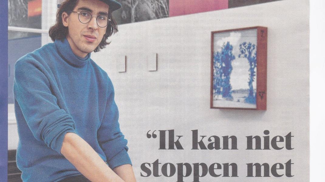 Dries Segers, Gazet van Antwerpen, Citta magazine, Zaterdag 11 November 2020, Dominique Piedfort