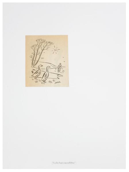 Marijn van Kreij, Untitled (In Jokes Begin Responsibilities, Ad Reinhardt)
