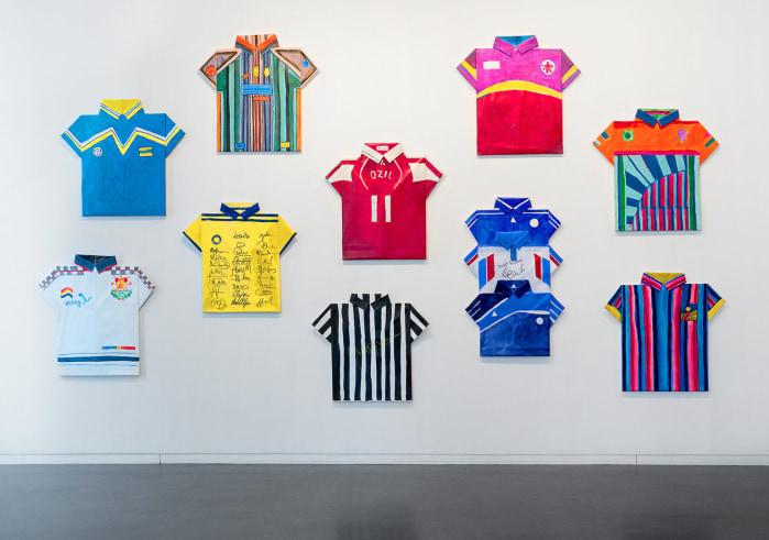 Dina Danish, Shaped Sport Shirts